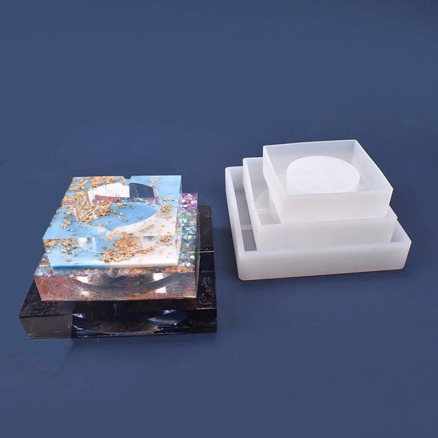 Ashtray Resin Mold - ResinsPal