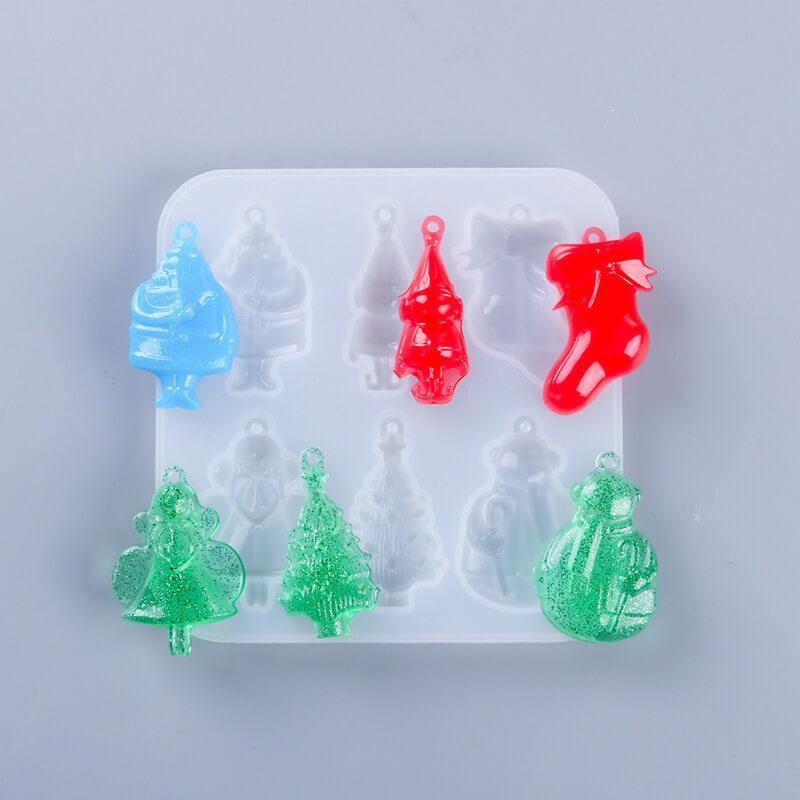 Christmas Tree Ornament Resin Molds