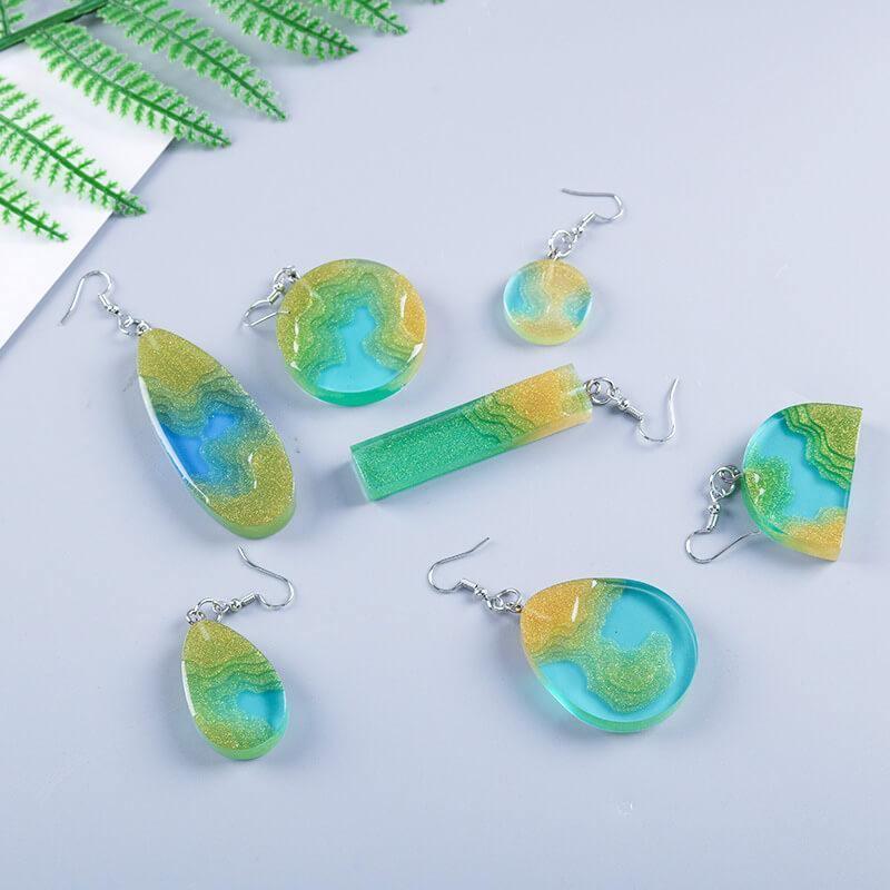 Earring Resin Molds