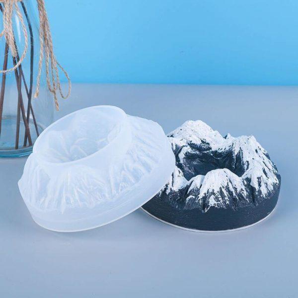 Mountain Valley Silicone Resin Ashtray Mold