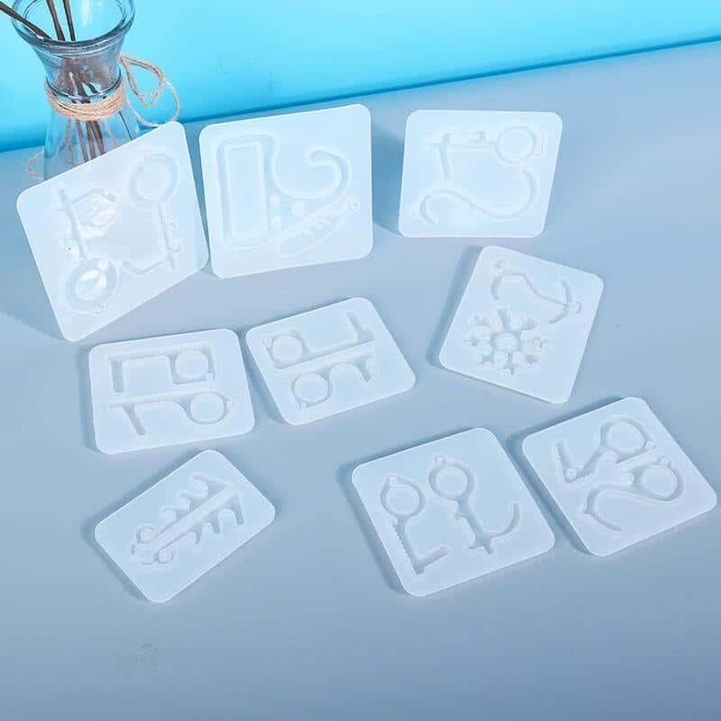 No-Touch Door Opener Silicone Resin Molds