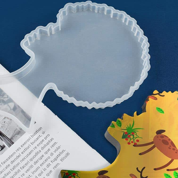 Palksky Afro Resin Coaster Mold - ResinsPal