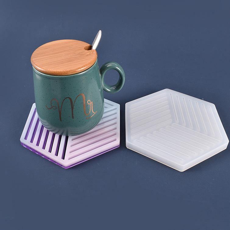 Silicone Resin Coaster Mold - ResinsPal