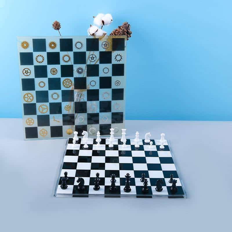 Chess Silicone Resin Molds