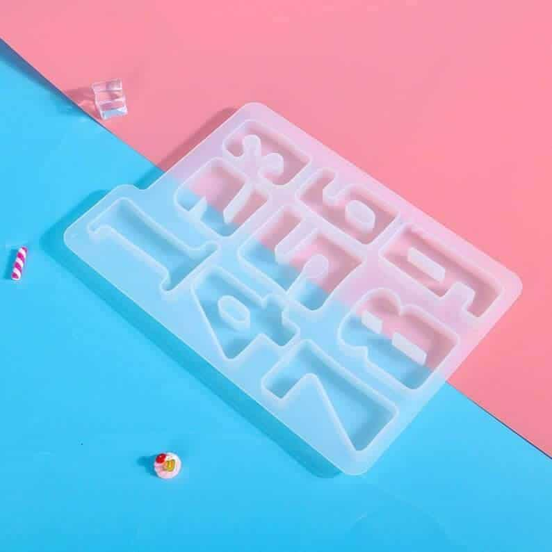 Silicone Puzzle Resin Molds