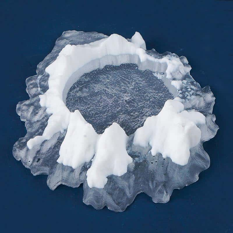Mountain Ashtray Resin Mold