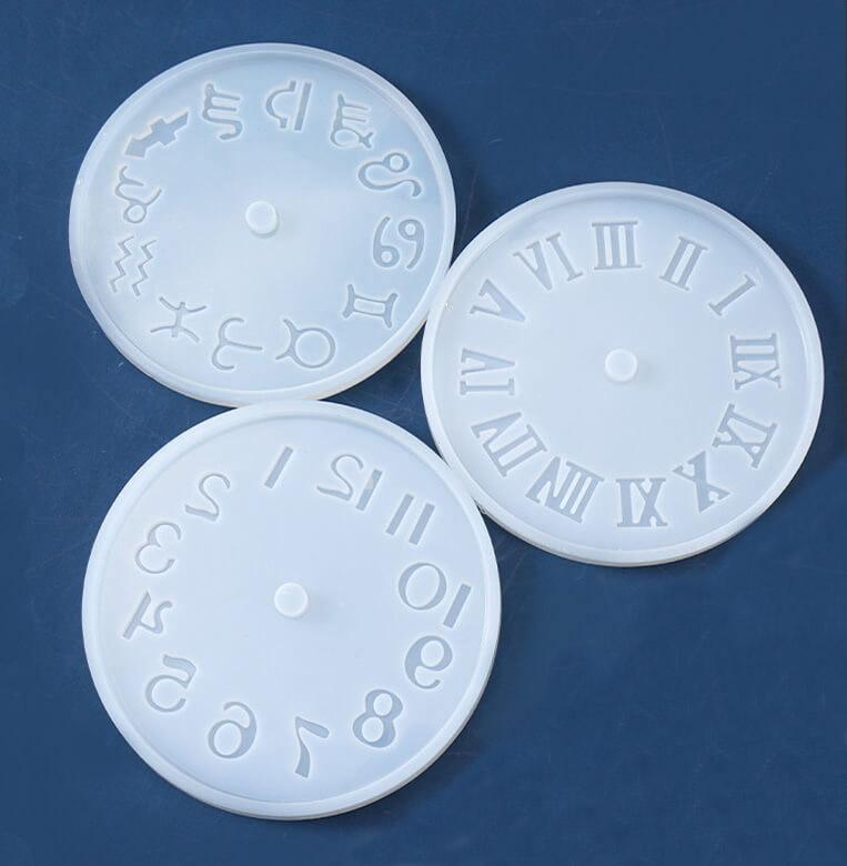 Clock Resin Molds