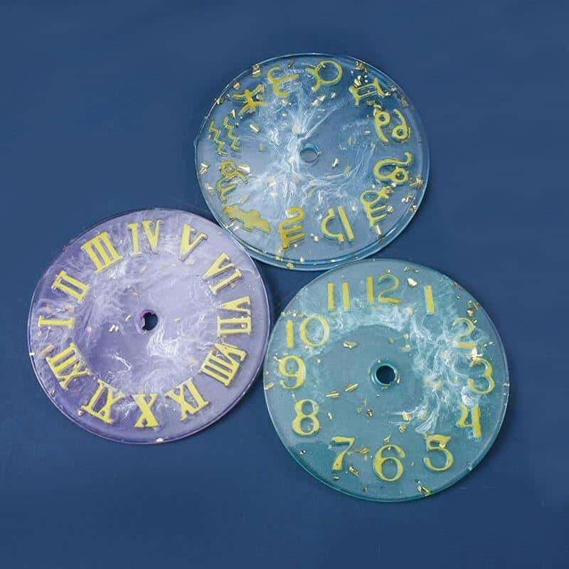 Resin Clock Molds