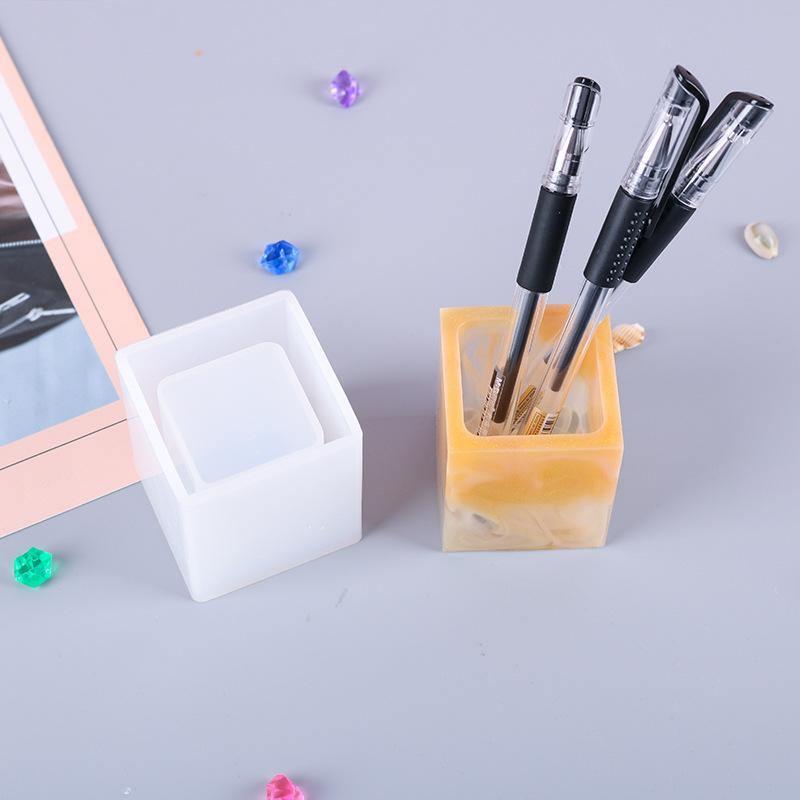 Coaster Pen Holder Resin Molds