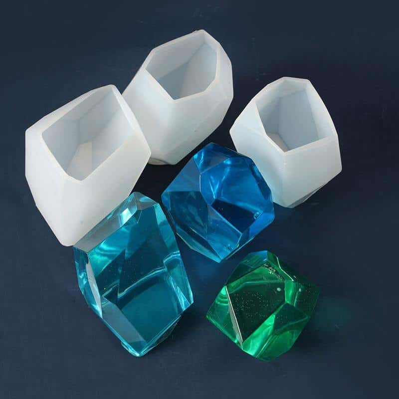 resin crystal molds