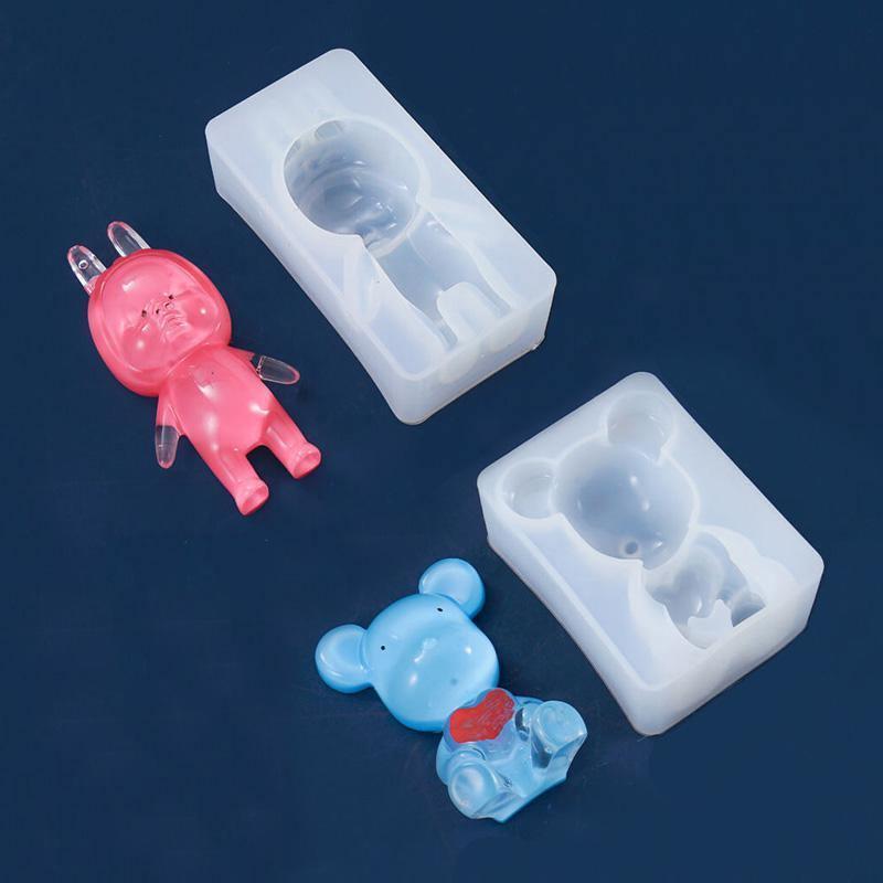 Animal Doll Resin Molds