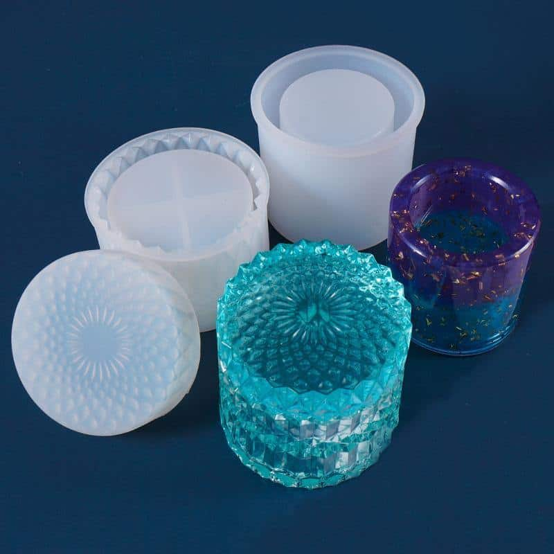 resin trinket box mold