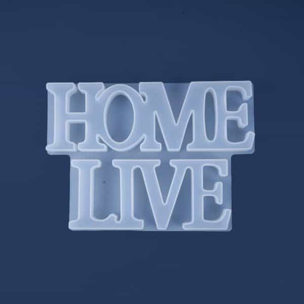 Word Resin Mold Home Live