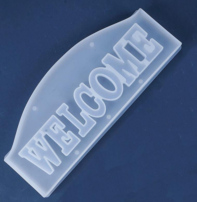 Resin Letter Mold, Welcome