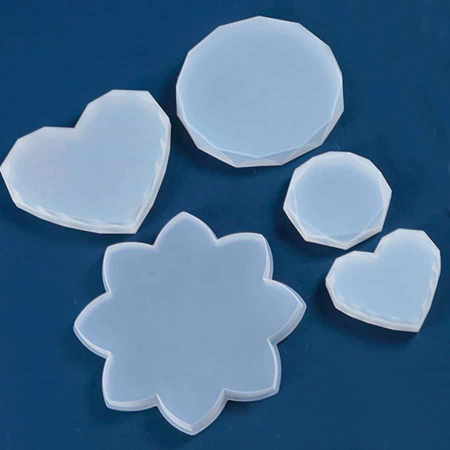 Silicone Coaster Molds for Resin - ResinsPal
