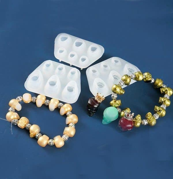 Skull Bracelet Resin Molds