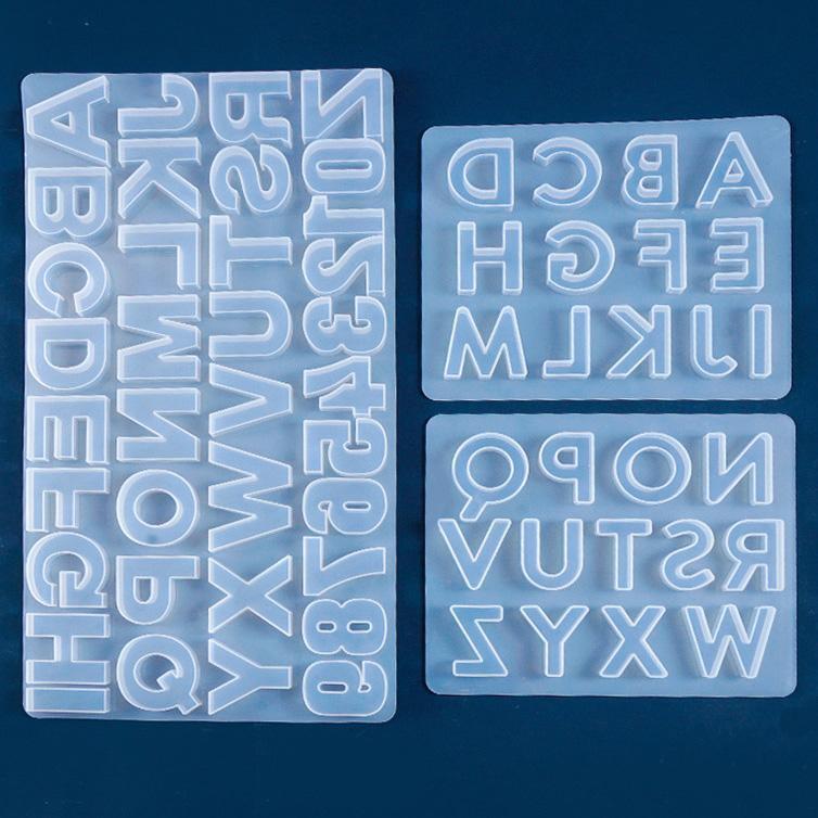 Resin Letter Mold - ResinsPal