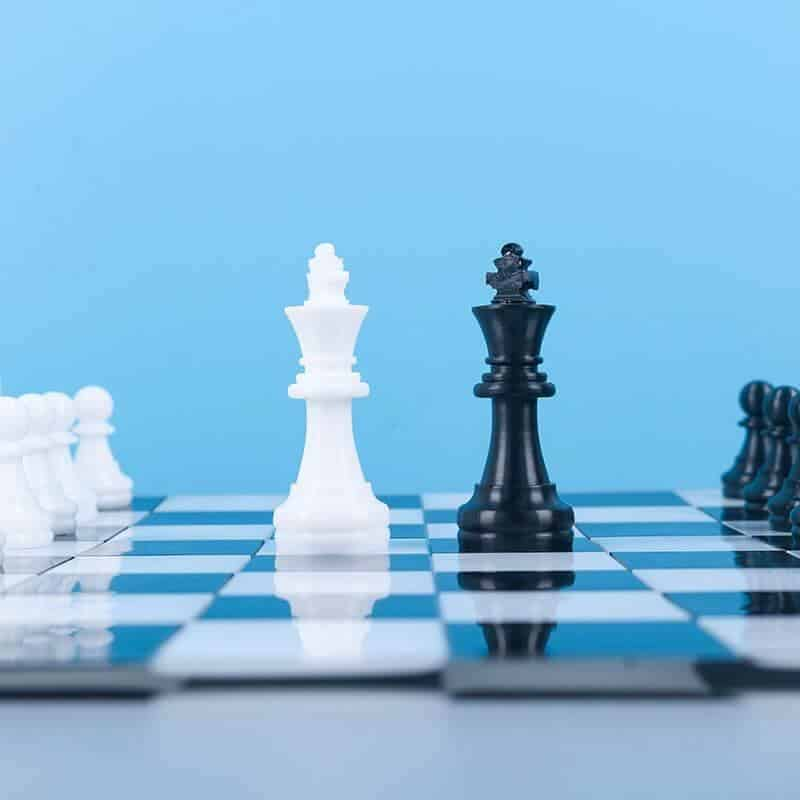 Silicone Resin Molds for Chess