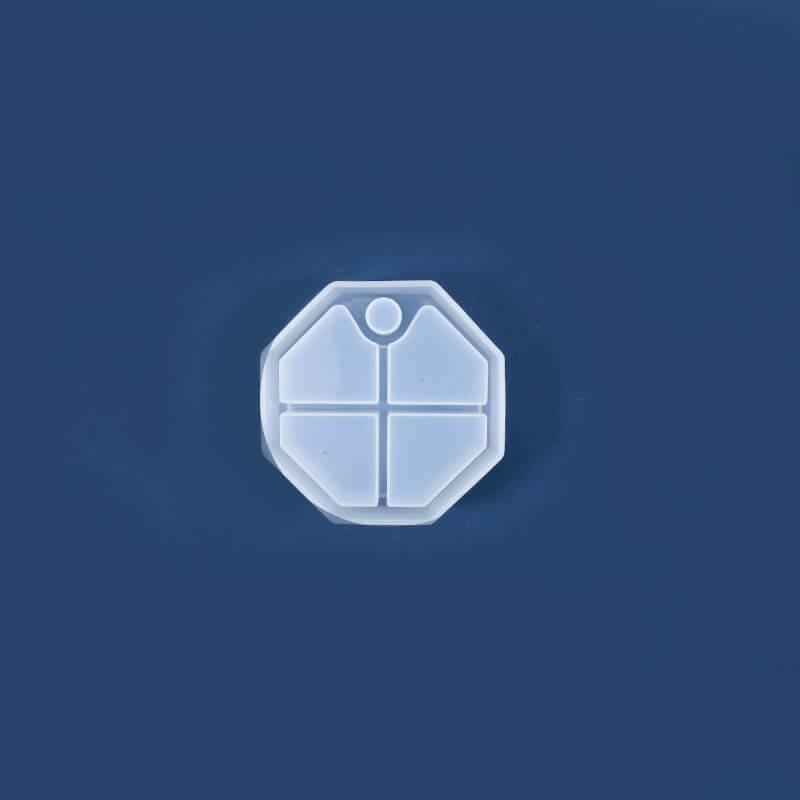 Jewelry Storage Box Resin Mold Octagon