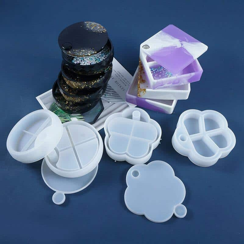 Silicone Resin Jewelry Box Mold