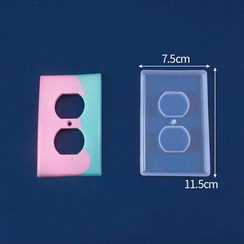 Light Switch Cover Mold for Resin